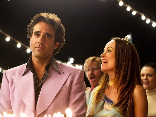 Bobby Cannavale, left, and Olivia Wilde star in HBO's
