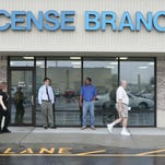 A Central Indiana Bureau of Motor Vehicles License Branch. / Rich Miller/The Star 2006 file photo