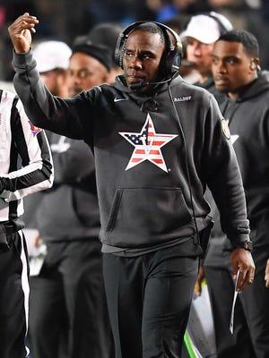 Vanderbilt coach Derek Mason is trying to avoid his second 0-for-SEC season.