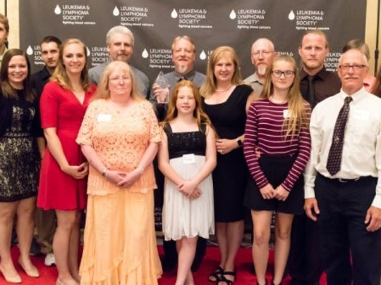 "The  van Wieringen, Mundt and Preske families were just recognized with a national award for their dedicated volunteer service to the Scenic Shore 150. In the last three years alone, they've raised $20,000 for The Leukemia & Lymphoma Society as part of ""Team Jillie"""