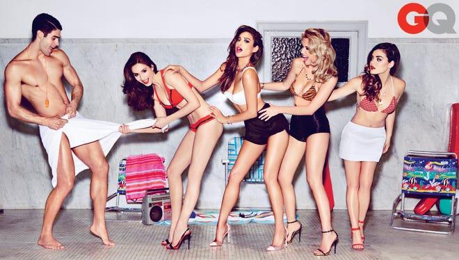 'Pretty Little Liars' stars pose for 'GQ'