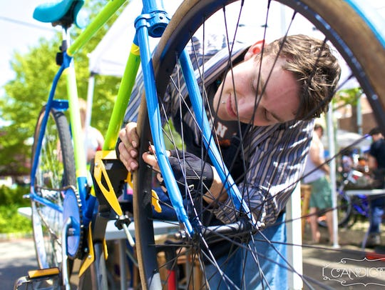 The Collingswood Bike Share will be among the vendors at the borough's Green Festival on Saturday.