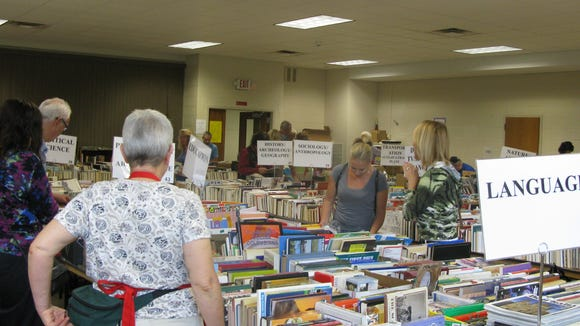 The Friends of the Penfield Public Library are conducting their 38th annual Book Sale. More than 85,000 items are for sale in 50 separate categories.