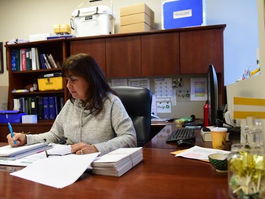 Jodi Saladucha, an official at an electrical-supply