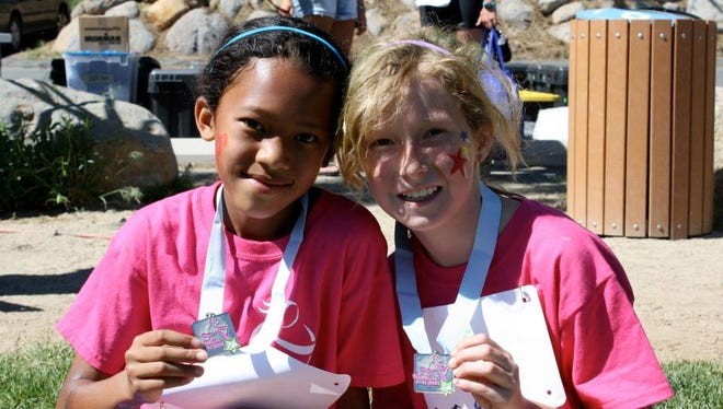 """The purpose of Girls on the Run is to develop healthy, confident, courageous girls who are ready to face their futures with a """"can do"""" attitude."""