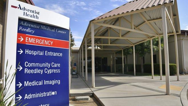 Adventist Medical Center Reedley on Thursday, July 12.