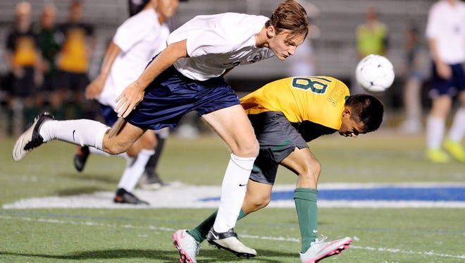 Roberson won a 2-1 overtime game over Reynolds when the soccer teams met last month in Skyland.