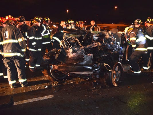 Three people killed in alleged street racing crash identified