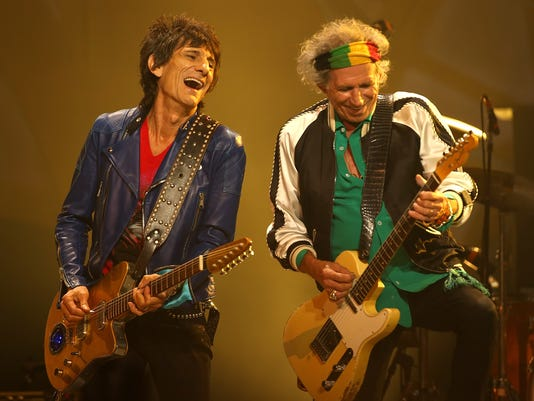 The Rolling Stones Perform Live In Perth