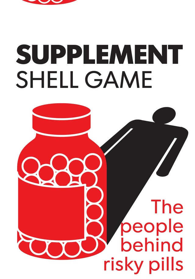 Sports supplement designer has history of risky products