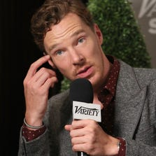 Benedict Cumberbatch attends the Variety Studio presented by Moroccanoil at Holt Renfrew during the 2014 Toronto International Film Festival on September 8, 2014 in Toronto, Canada.