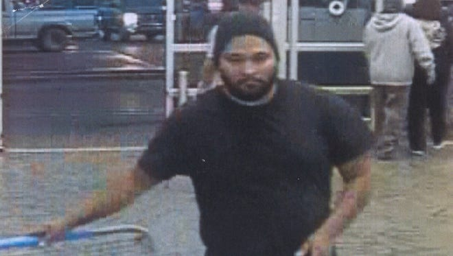 Police is searching for a suspect allegedly involved in multiple shoplifting incidents that has taken place at the Walmart at 4600 East Main Street in Farmington.