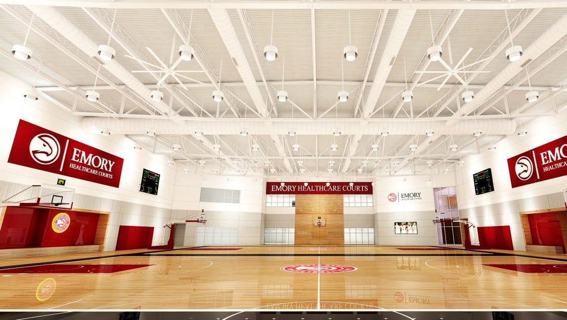 NBA's new arms race: Atlanta Hawks $50M facility to merge sports, science