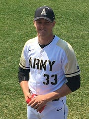 Daniel Burggraaf, a North Mason graduate, was the No. 2 starter this season for an Army team that made the NCAA Super Regionals.