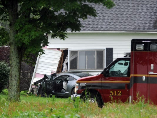 LAN Car into house