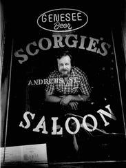 Don Scorgie, owner/operator of Scorgie's Saloon, 148