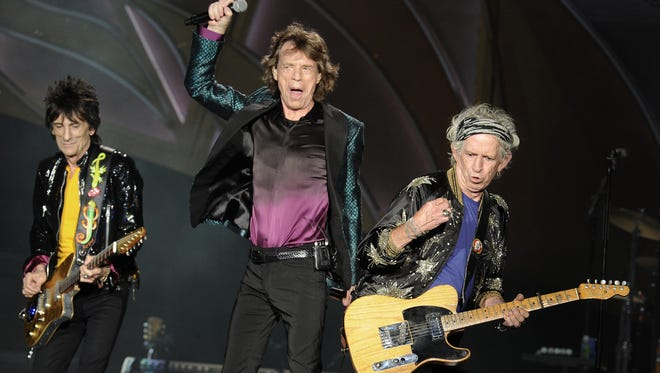 The Rolling Stones at LP Field on Wednesday June 17, 2015, in Nashville.