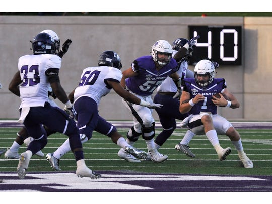 Abilene Christian University quarterback Dallas Sealey