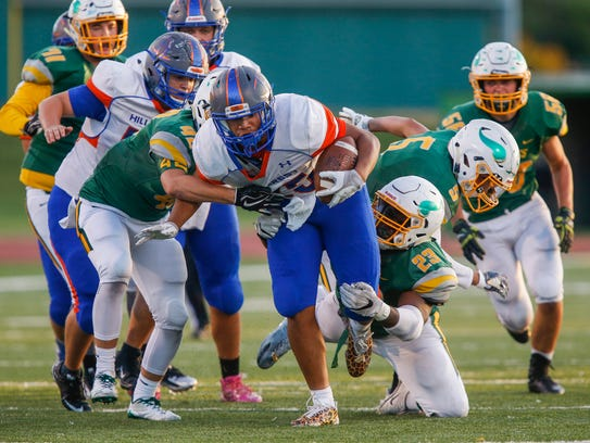 Hillcrest defeated Parkview 48-13 in the Vikings' homecoming
