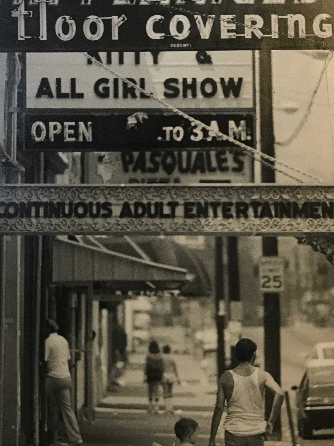 The streets of downtown Newport, Kentucky, were lined with strip clubs and bars for decades. In the 1980s, a reform commission was elected to try to clean up the city's streets -- and its image. Enquirer file