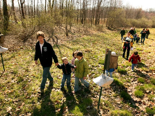 Take a hike at the Great Swamp Outdoor Education Center in Chatham.