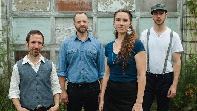 Driftwood — from left, Joe Kollar, Dan Forsyth, Claire Byrne and Joey Arcuri — will perform Saturday and Sunday at the Haunt.