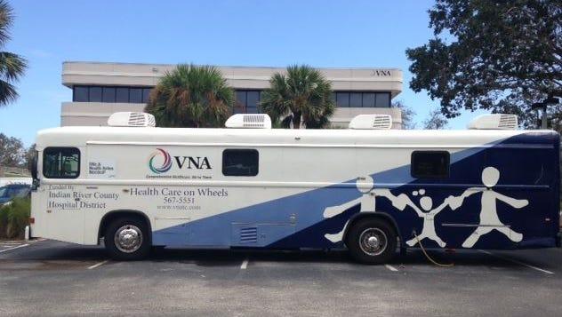 "The Visiting Nurse Association ""Health Care on Wheels"" van."