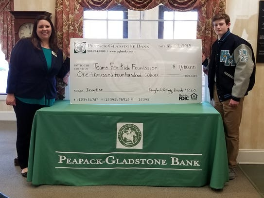 From left: Kate Sant'Angelo, Peapack-Gladstone Bank