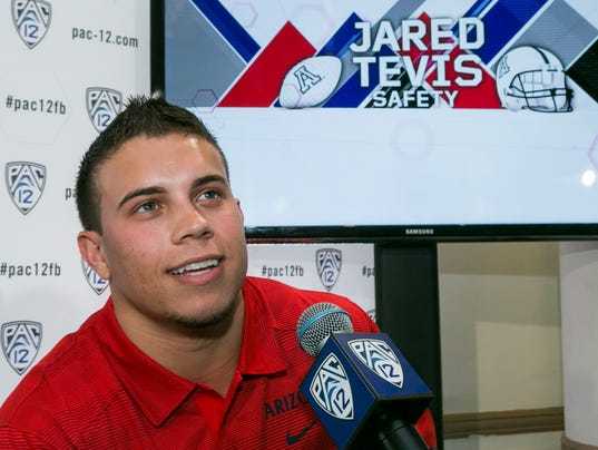 Jared Tevis media day