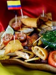 Mi Tierra's Picada Complete featuring seasoned fried