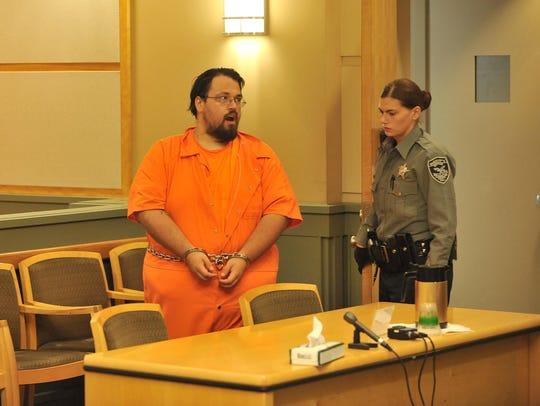 William Eisenhardt appears for an arraignment  hearing