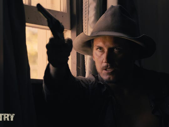"""A still shot from """"Blood Country,"""" a film directed"""