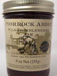 Poor Rock Abby Thimbleberry Jam produced by the monks