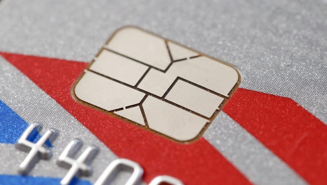 New cards are equipped with computer chips that store account data more securely and help prevent fraud.