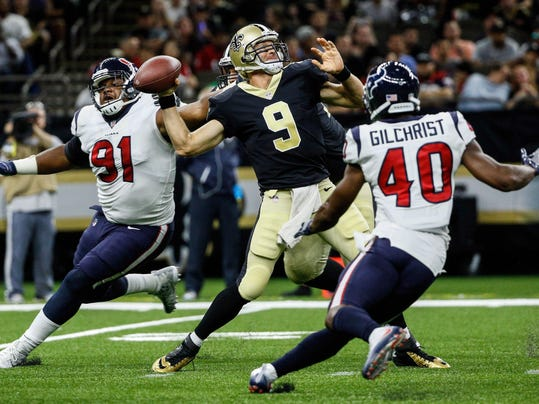 NFL Houston Texans at New Orleans Saints