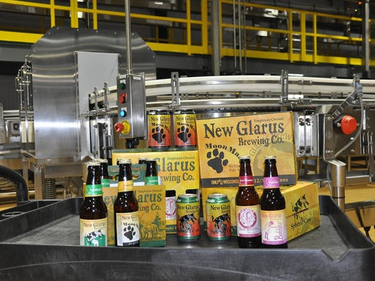 New Glarus Brewing dumped half-empty kegs of beer left behind at closed bars and restaurants.