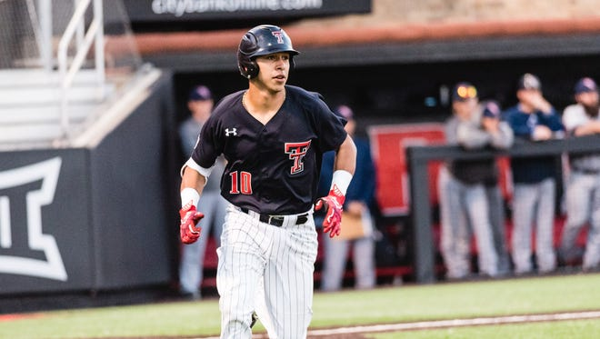 Carroll grad and Texas Tech catcher Michael Berglund is hitting .310 this season for the Red Raiders.