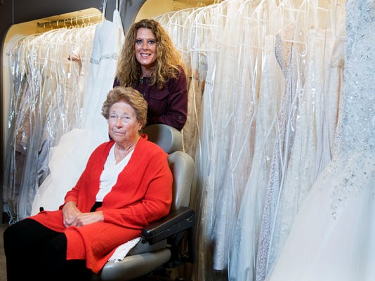 Kalli Blackstone Aims For Next Level With French Door Bridal Boutique