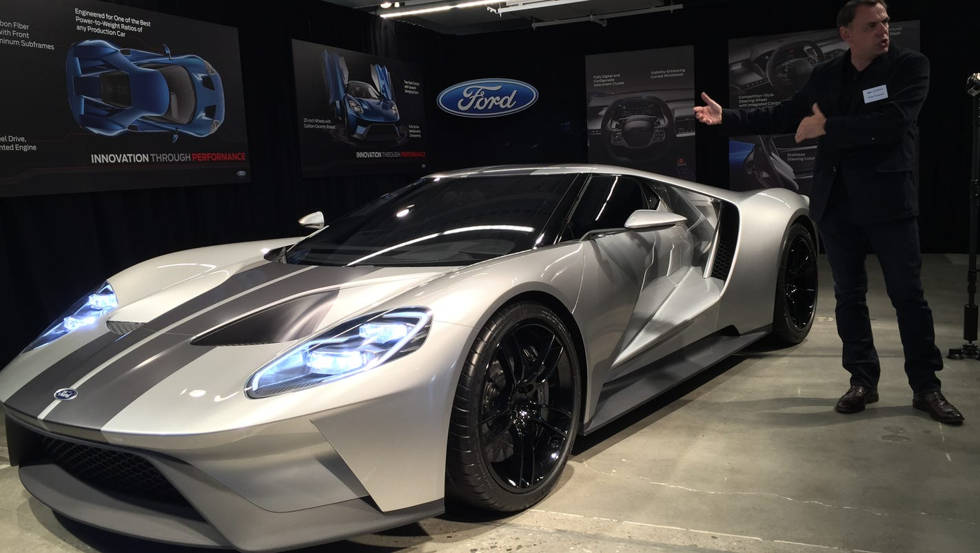 Ford Gt Supercar Takes Flight With High Tech Innovations