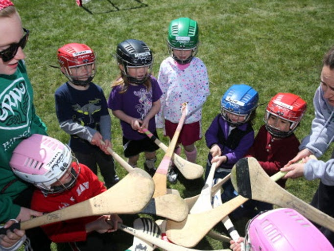 The Milwaukee Hurling Club can help people of all ages