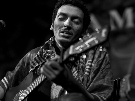 West African guitarist Bombino, signed to Vermont-based Cumbancha Records, will play a set at Club Soda on Tuesday as part of the Montreal International Jazz Festival.