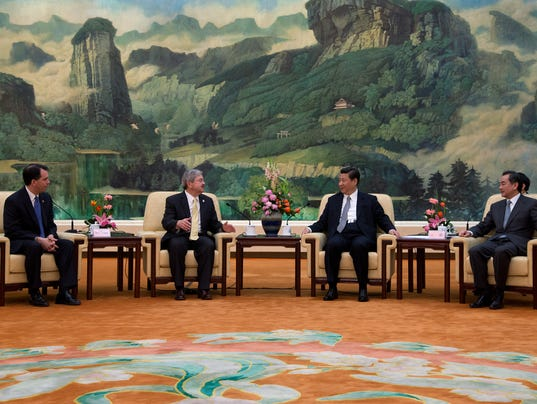 American Governors Visit China