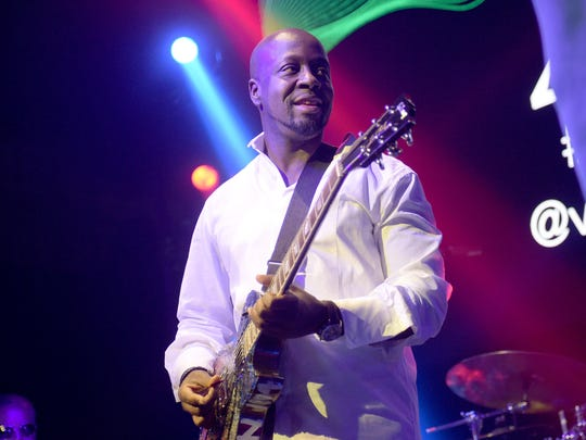 The hip-hop and pop music of Wyclef Jean hits the Emerald