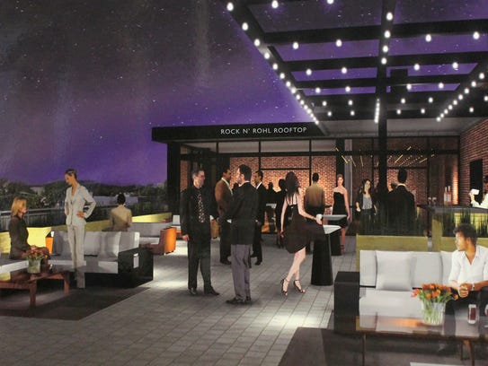 The Rock n' Rohl Rooftop Lounge coming to the Count
