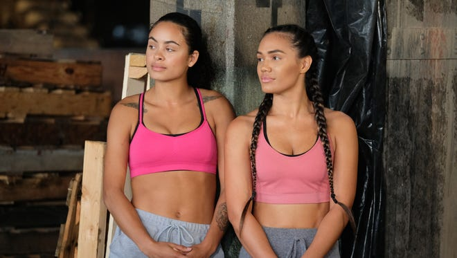 "Roommates Jasmine McNew (left) and Carmela Roeschlein, who are from Indiana, will be on Tuesday's episode of ""Fear Factor."""