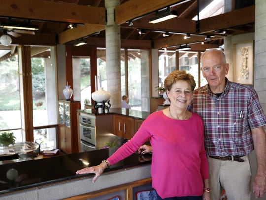 "Architect Rick Barnett and his attorney wife, Martha, have been married 46 years after meeting in college at Tulane. Their Lake Jackson home, designed by Rick, recently won the ""Test of Time"" award from the Florida Association of the American Institute of Architects."