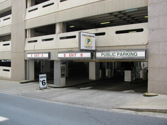 Metro plans a $10 million, 350-space expansion to the main Nashville downtown public library parking garage.