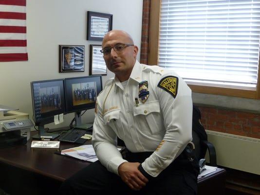 Haledon Police Chief Angelo Daniele