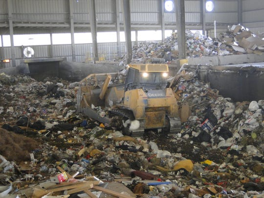 200,000 tons of solid waste from the city of Las Cruces