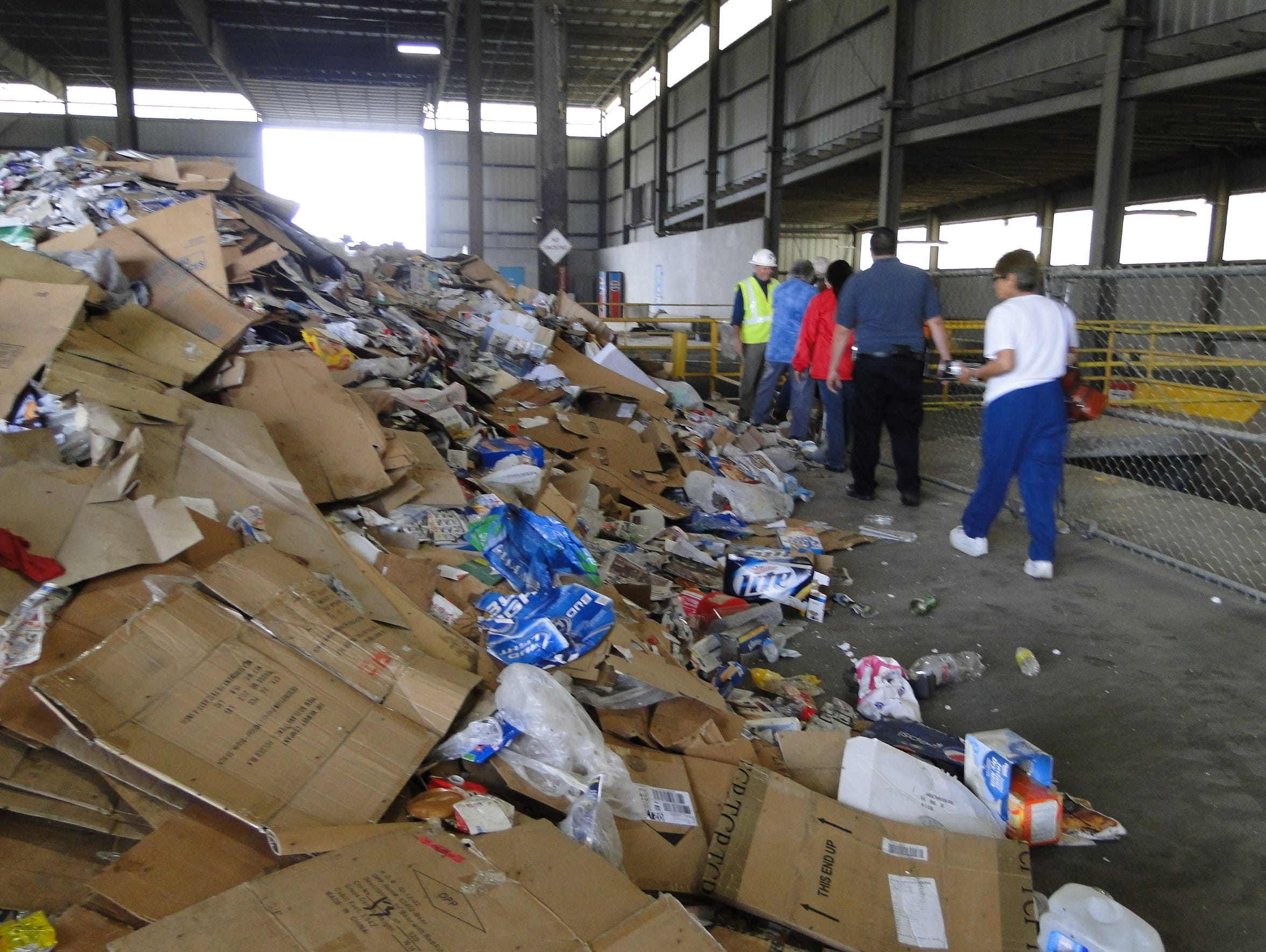 The recyclables market for paper products has stabilized. Patrick Peck, the area's solid waste director, said there was a time when it looked like newspapers and chipboard (cereal boxes) might be in danger, but that is no longer the case.